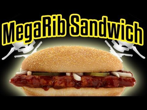 Mega Rib Sandwich - Epic Meal Time