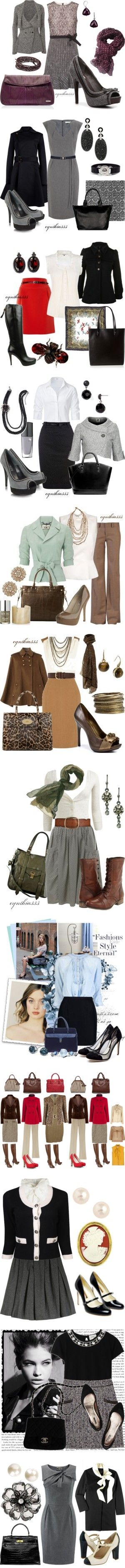 """Outfits para ir a trabajar"" by guisella-infantes on Polyvore"