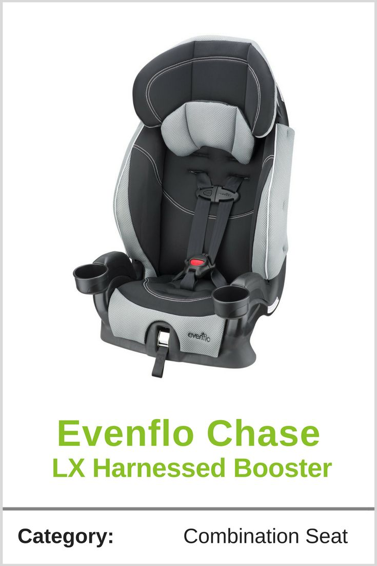 The Evenflo Chase LX Harnessed Booster Is Combination Seat For Parents Who Are Ready To