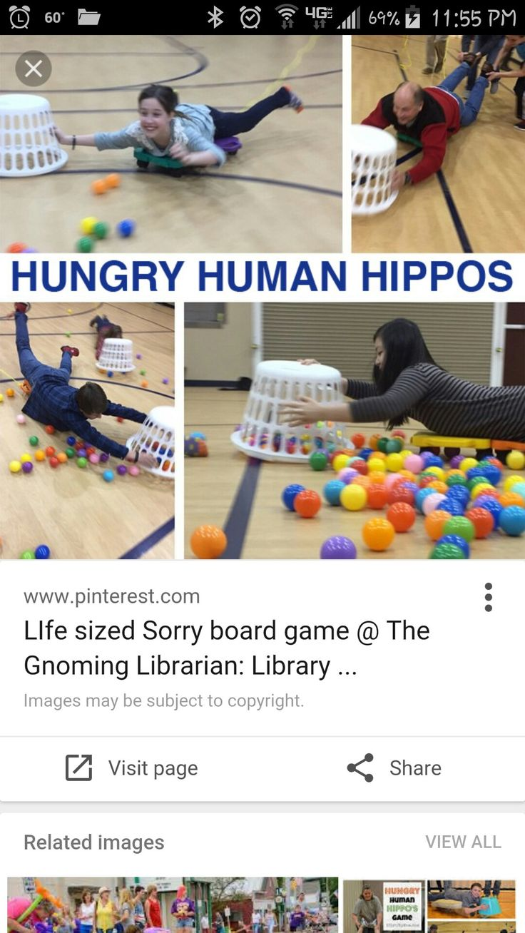 Life size hungry hungry hippos                                                                                                                                                                                 More