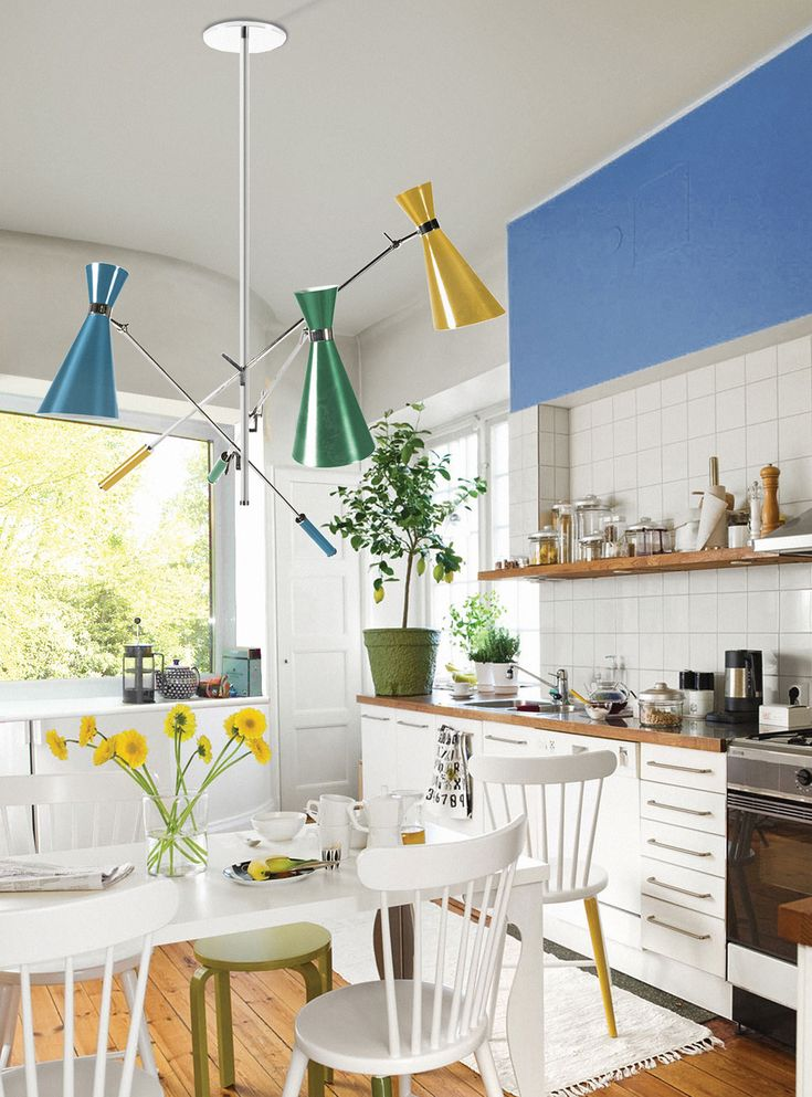 Home Design Ideas / Home Inspirations | Stanley Suspension Lamp Will Give A  Pop Of Color