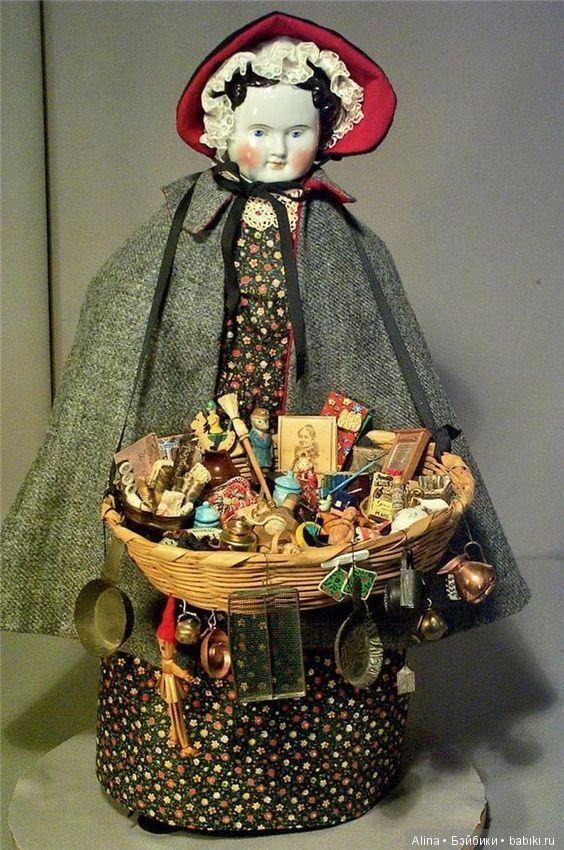Антикварные кукольные магазины-лавки и старинные куклы-продавщицы / Другие винтажные антикварные куклы, реплики / Бэйбики. Куклы фото. Одежда для кукол
