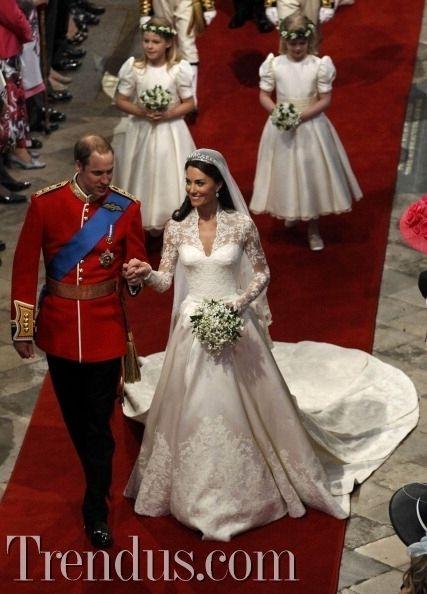 Kate Middleton ve Prens William'ın 3.evlilik yıldönümü