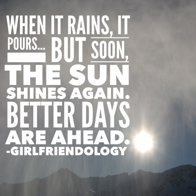 Cheer up friendship text quote - Better Days ARE ahead! 25 Text to Cheer up a Friend