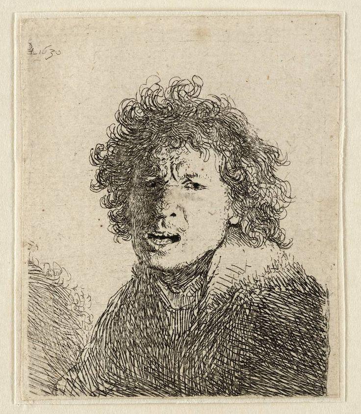 Mijn favoriete Rembrandt in Teylers Museum: Rembrandt, zelfportret (B13)