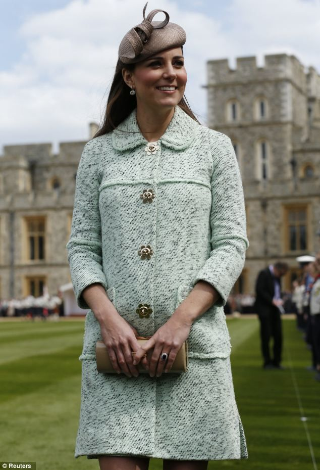 Kate Middleton attended the National Review of the Queens Scouts for the first time in place of the Queen