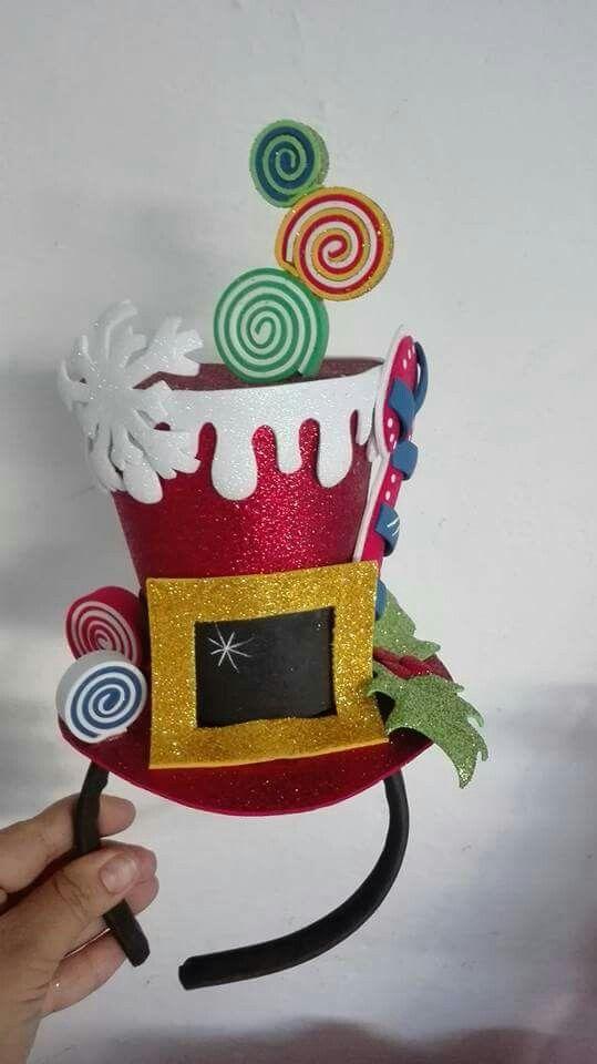 754e53d038606 Christmas hat Diademas Navidad