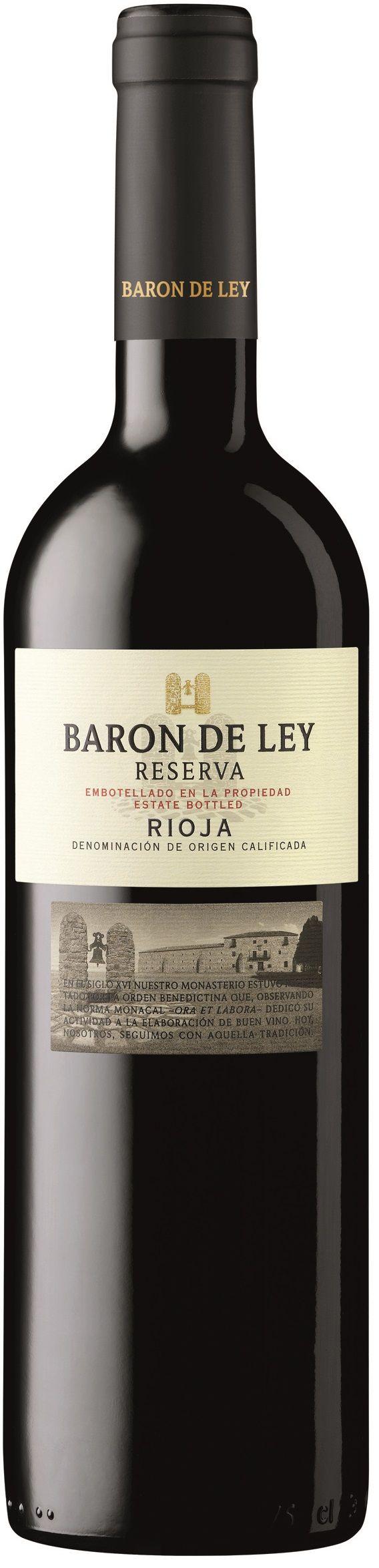 """""""Reserva"""" Tempranillo 2012 - Bodegas Barón de Ley, Mendavia, Navarra, España-------------Terroir: Rioja Baja (Rioja DOCa)------------Crianza: 20 meses en barricas nuevas de roble americano"""