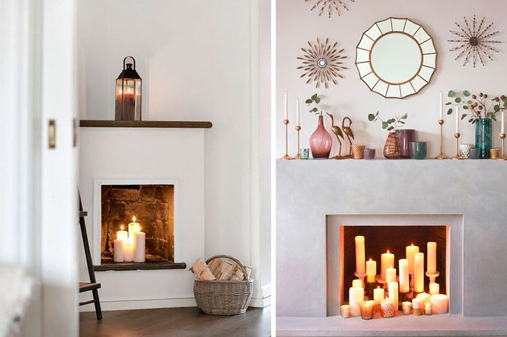Ideas para decorar chimeneas en desuso casita playa - Ideas para chimeneas ...