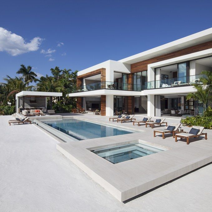 Live Like ARod At This Sleek 48 Million Miami Manse Modern House Extraordinary Miami Home Design Exterior