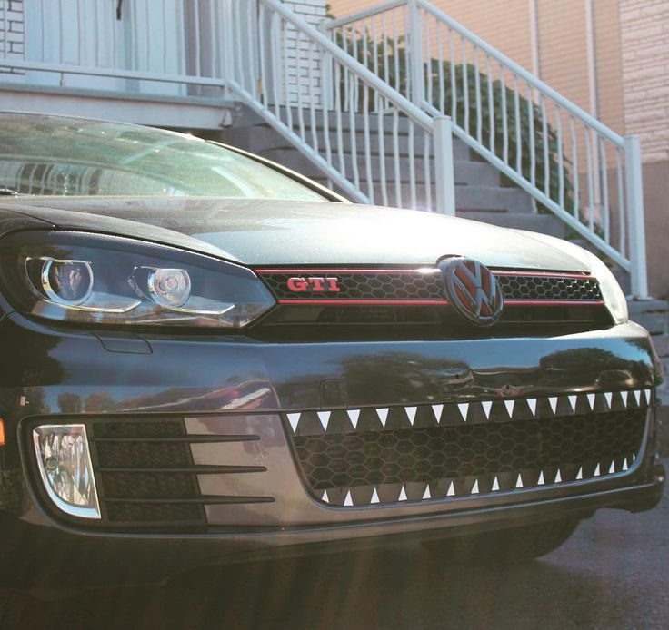 Mk6 VW GTI With Lower Grille Teeth