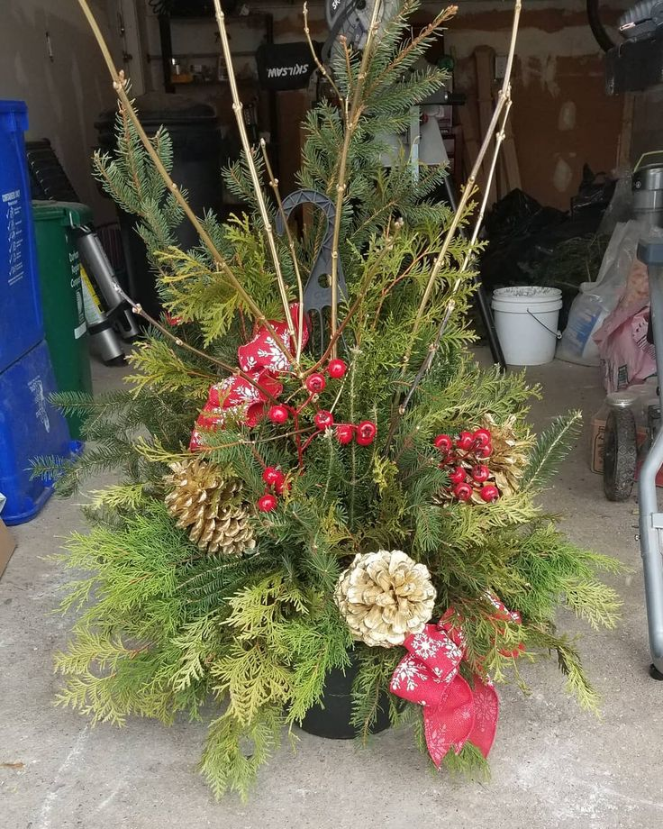 Spreading holiday cheer through the neighbourhoods with our custom hanging baskets and planters designed to your preferred Color pattern. This is not the basic pine planters you will find in the grocery store. We use only Ontario grown from sustainable grower in tweed supporting our Ontario farmers. . . . . #treesntools #square #payments #squarepayment #renovations #renos #Durham #Property #home #house #rental #Pickering #ajax #whitby #Durhambusiness #landscaping #landscapersofinstagram…