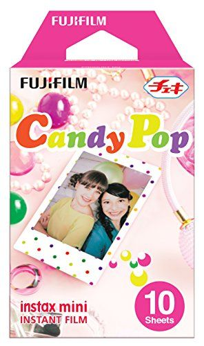 Fujifilm Instax Mini Candy Pop Film (Pack of 10) Fujifilm http://www.amazon.co.uk/dp/B00B6YRG4C/ref=cm_sw_r_pi_dp_U8J4ub1PC3YN3