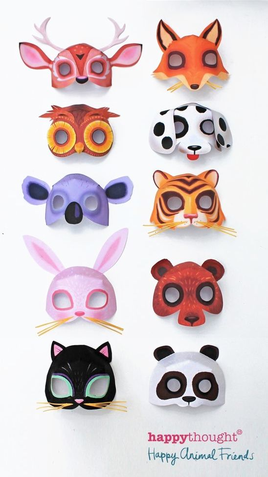 The 25+ best Animal mask templates ideas on Pinterest Animal - face masks templates