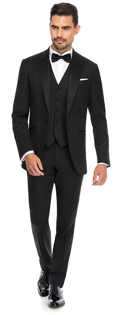 Diner jacket peak lapel