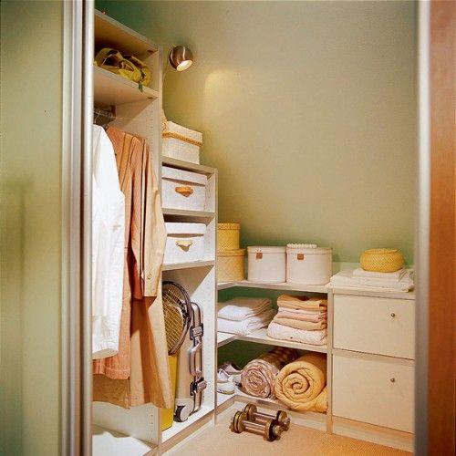 closet ideas for attic bedrooms - attic bedroom closet layout