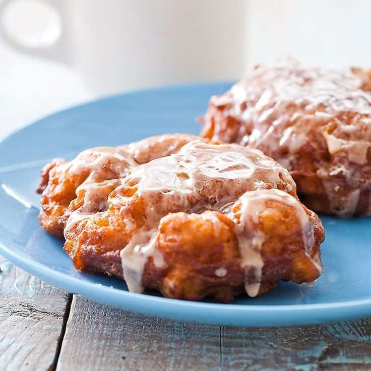 how to make baked apple fritters