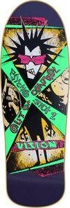 Vision Skateboards Decks Vision Skateboards Vision Psycho Stick#2 Deck 10x30.5 Pur Green PSYCHO STICK 2  #skateboarding