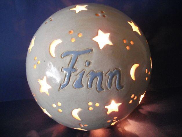 Namenslampe - Geschenk zur Geburt