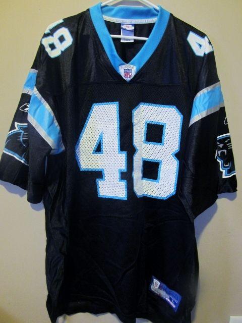 super popular d0b1a 36086 Reebok Stephen Davis , Carolina Panthers jersey , large ...