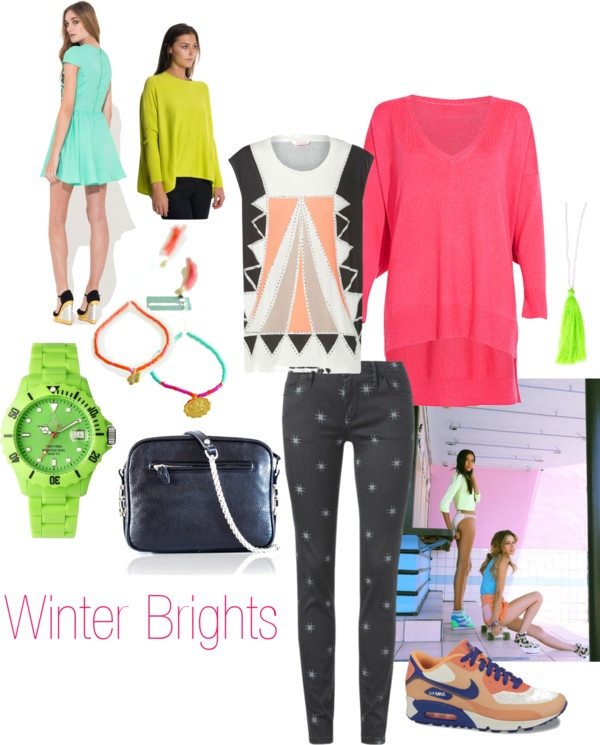 """WINTER BRIGHTS"" by superettestore on Polyvore"