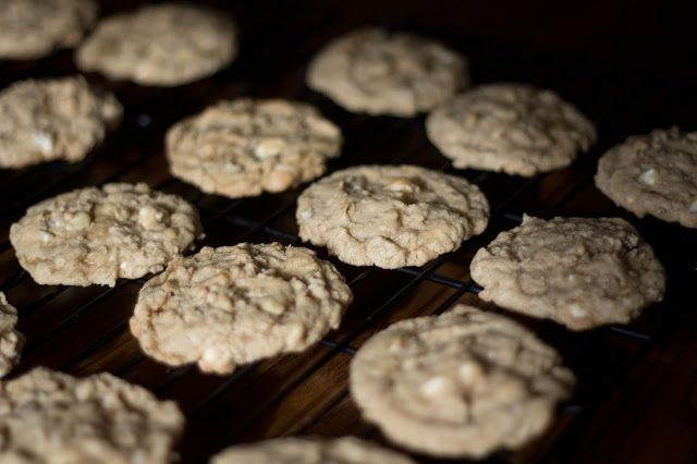 Oatmeal White Chocolate Chip Cookies | Food I Must Make | Pinterest