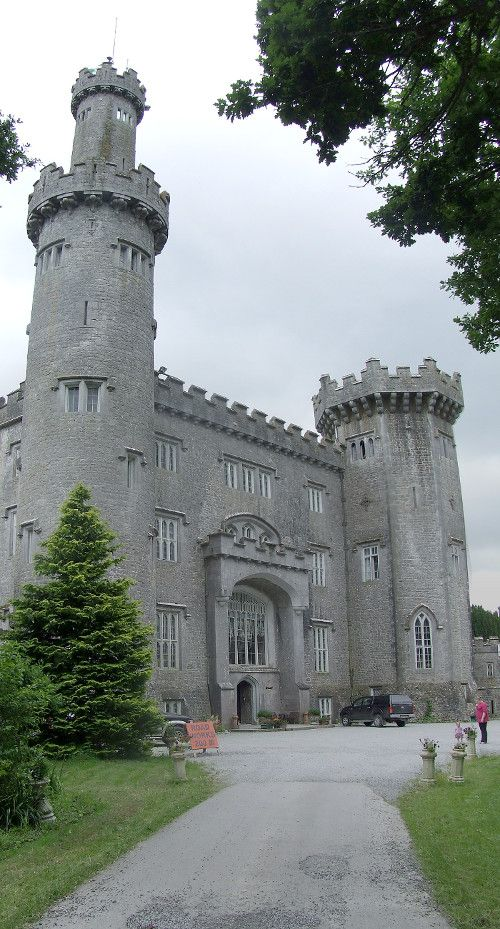 One of the finest Gothic-style castle in Ireland, Charleville Castle, is located in County Offaly, in Ireland's most ancient primordial oak woods.