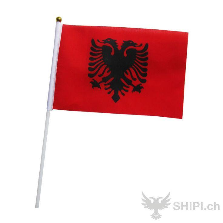 Albanische Fähnchen - http://shipi.ch/shqiptare-shop/artikel-mit-albanischer-flagge/kleine-albanische-flagge/ http://shipi.ch/wp-content/uploads/2014/02/kleine-albanische-flagge.jpg