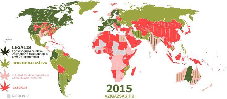 hol legális a fű marihuána kannabisz cannabis térkép világtérkép