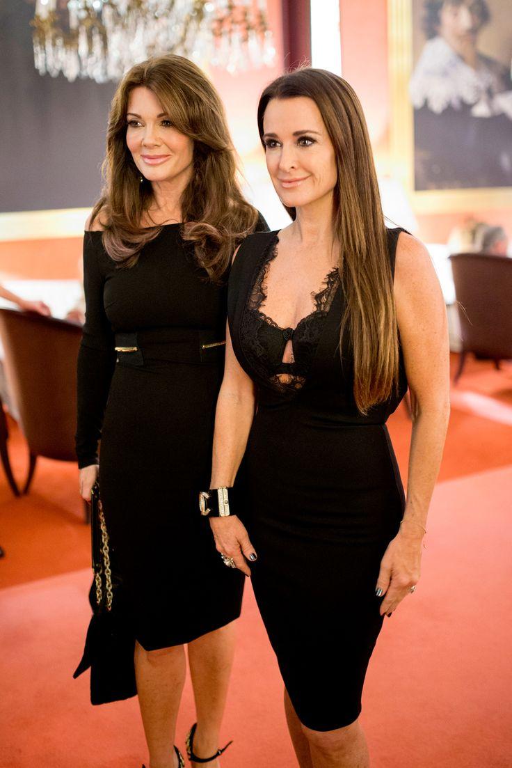 Kyle and Lisa look flawless in their little black dresses. #RHOBH #LBD