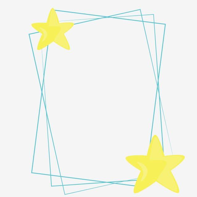 Frame Stars C Cute Light Frame Star Star Frame Frame Stars Png And Vector With Transparent Background For Free Download Hologram Colors Graphic Design Background Templates Vintage Photo Frames