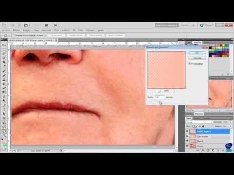 Quitar arrugas y retocar imágenes - Tutorial Photoshop