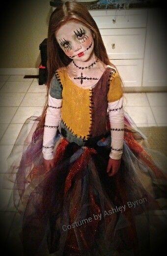 Nightmare Before Christmas Sally -tutu costume My little girl looks amazing. ♡
