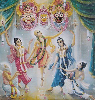 Gurudeva Kabe Tava Karuna , Sri caitanya