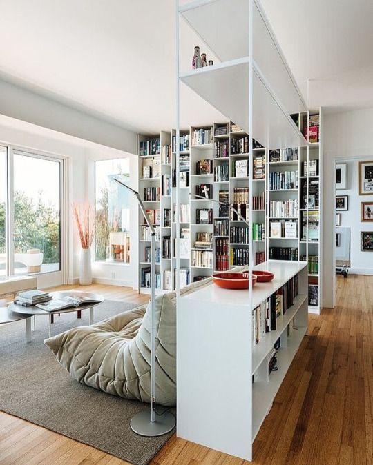 51 besten regale Bilder auf Pinterest Arbeitszimmer, Büchereien - holz stahl interieur junggesellenwohnung