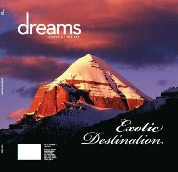 DREAMS MAGAZINE exotic destination