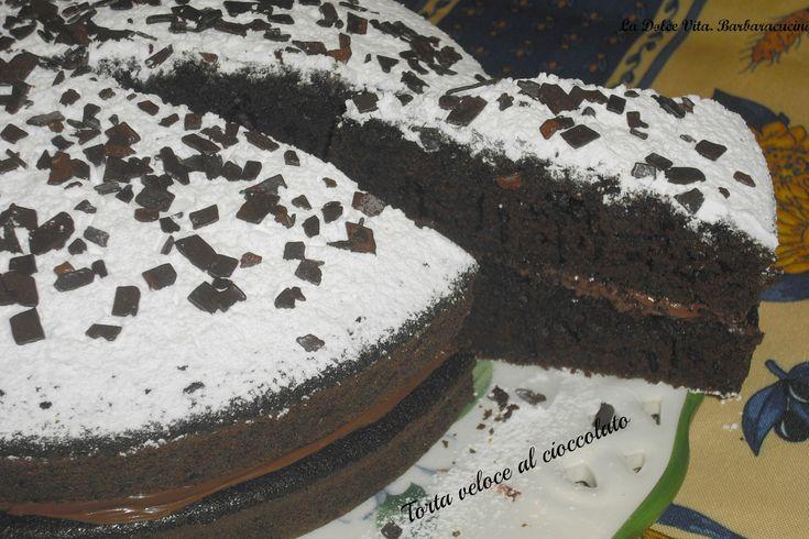 Torta+veloce+al+cioccolato!