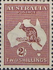 Australia 1945 Kangaroo Fine Mint SG 212 Scott 206 Other Australian Stamps HERE