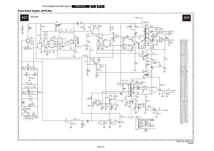 PHILIPS 715G3214-1 32PFL5604 PSU Service Manual download