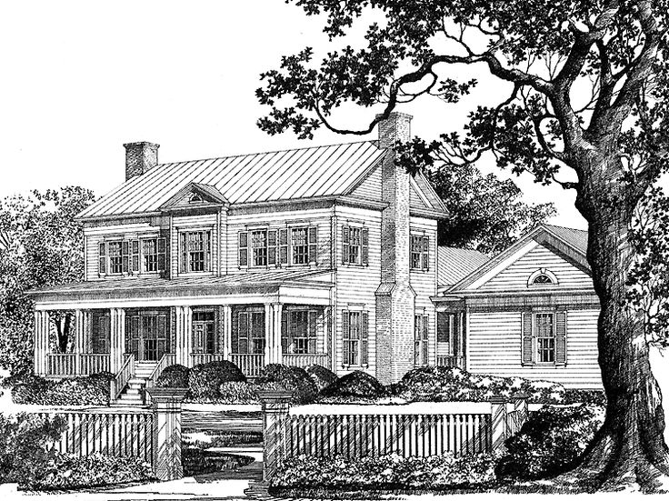 Based On Farmcote A Historic Greek Revival Farmhouse On
