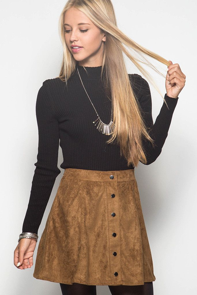 Just Dance Skirt- Camel from Chocolate Shoe Boutique