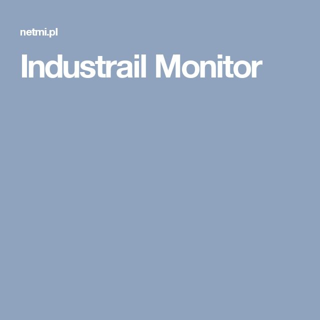 Industrail Monitor