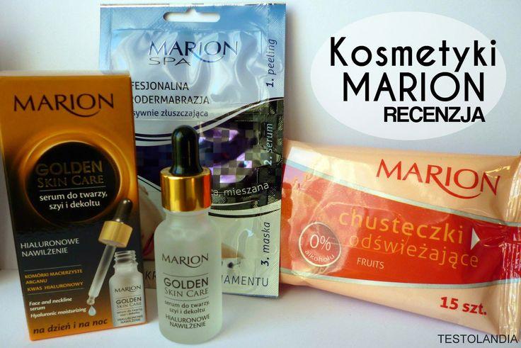 Kosmetyki Marion - RECENZJA.