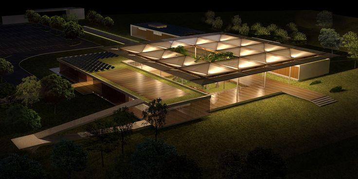 Projeto da Sede do Campo Olímpico de Golfe - Olimpíadas 2016 - Rio de janeiro - Brasil
