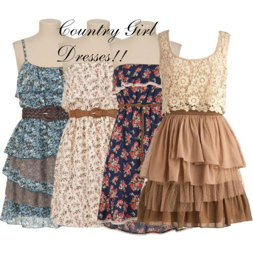 dress country | Country Girl Dresses!! I Love It!! - Polyvore