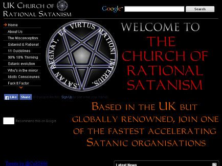 Welcome to the Church of Rational Satanism, Based in the UK but globally renowned, join one of the fastest accelerating Satanic organisations