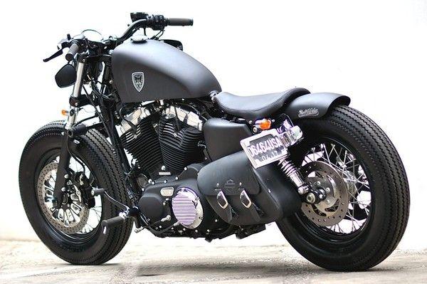 harley davidson sportster forty eight dark custom 2013