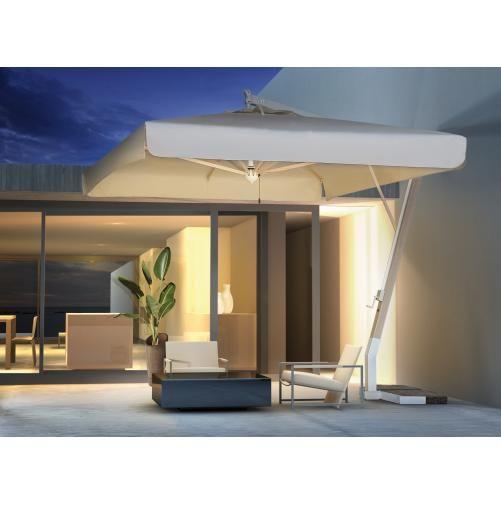 Зонт уличный квадратный с воланом, Milano Braccio, 3000х3000 мм