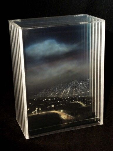 3D Holographic Glass Paintings (16 pieces) - My Modern Met