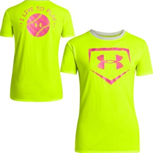 Under Armour softball tee, I want this!